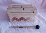 D32: wood drum