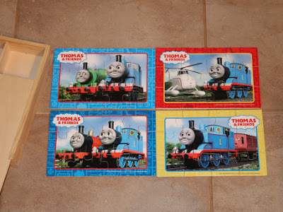 A46: 4 in 1 Thomas Tank Engine Puzzles