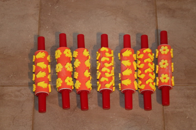 C132: Paint Stamp Rollers