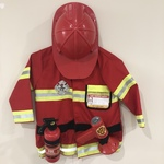 G194: Fire Chief Role Play Costume