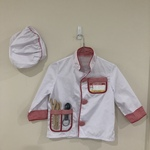 G197: Chef Role Play Costume