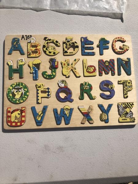 A108: Zoo Alphabet