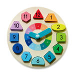 A130: Wooden Clock Puzzle