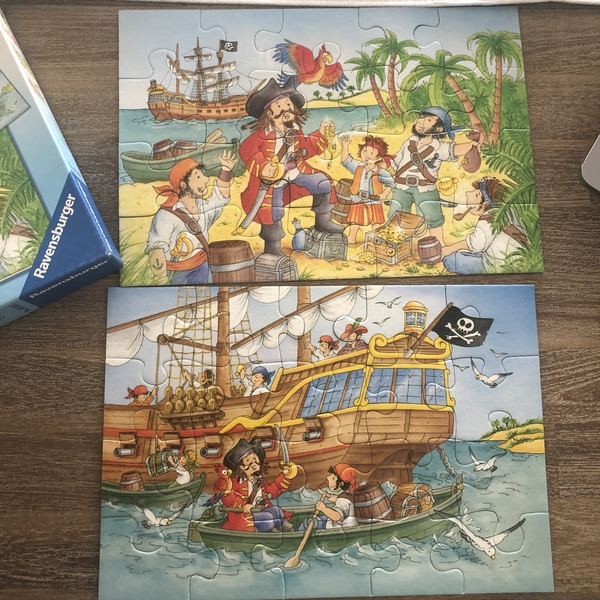 A122: Pirate Puzzle
