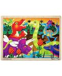 A112: Dinosaur Puzzle (24 pieces)
