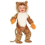 D036: Cuddly Tiger Costume