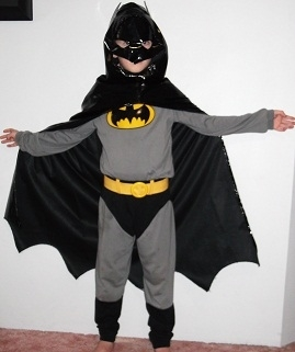 D059: Batman Muscle Costume