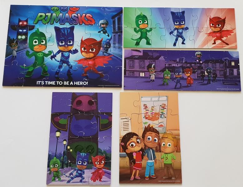 PG5: PJ Masks Puzzles