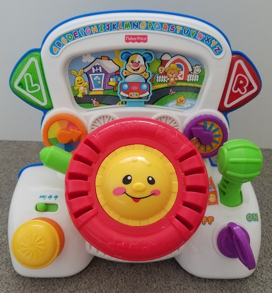 B19: Fisher-Price Rumble and Learn Driver