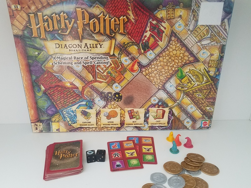 PG60: Harry Potter Diagon Alley Board Game