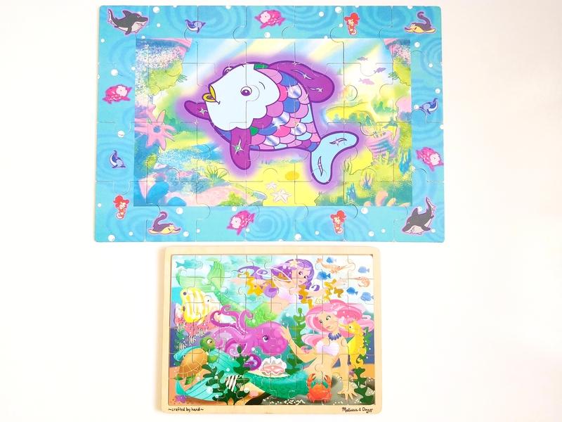 PG130: Mermaids and Rainbow Fish