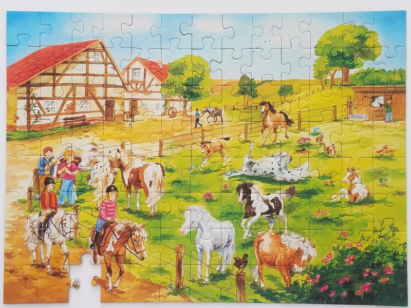 PG1300: Horse Ranch Puzzle