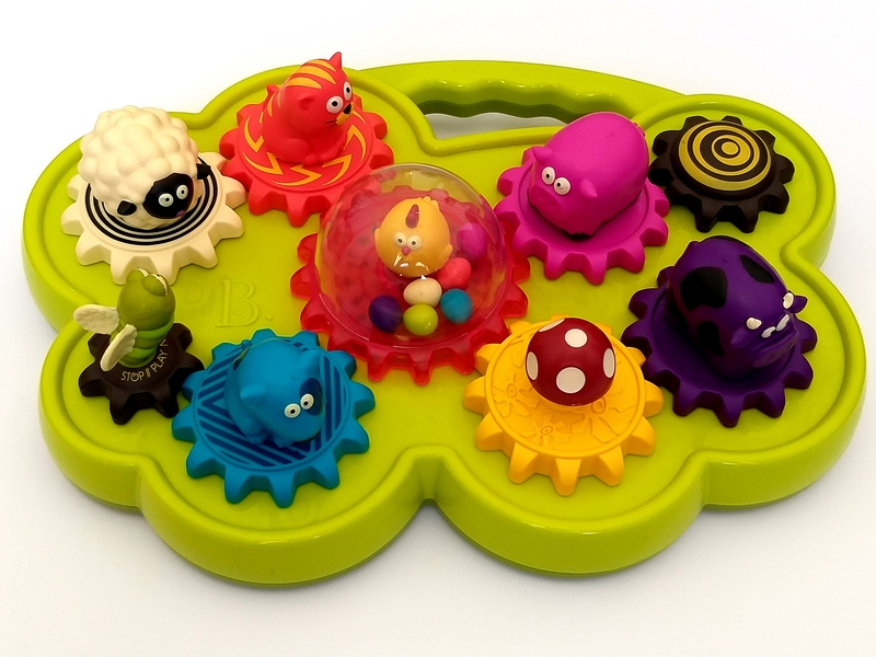B25: Moosical Gears Shape Sorter