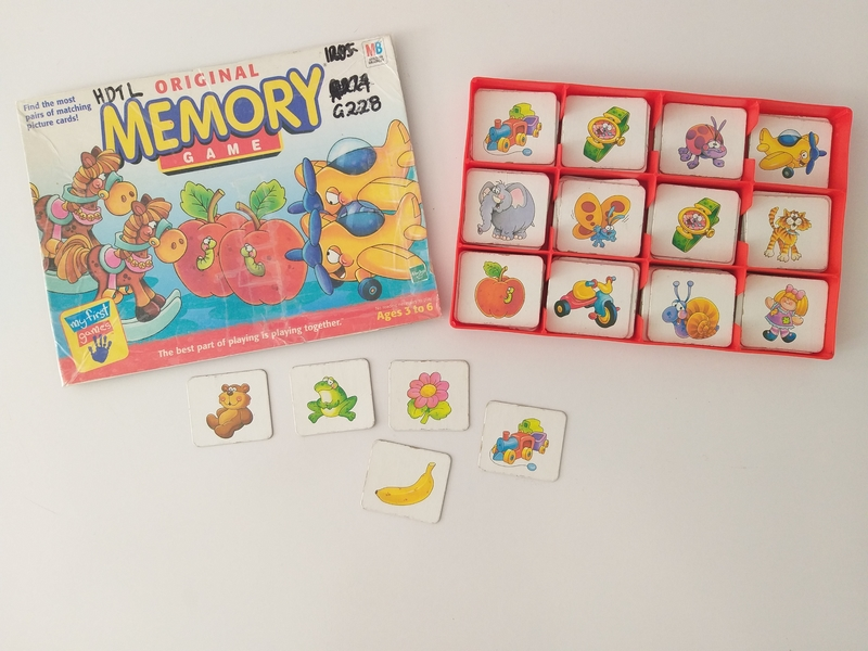 PG1205: Original Memory Game