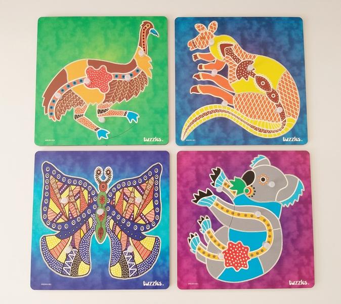 PG89: Aboriginal Peg Puzzles
