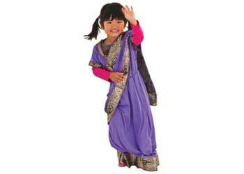 IMG206: Indian Girl Dress Up Size 3-6