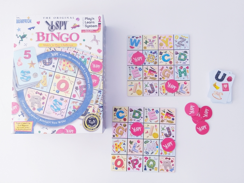 PG103: I Spy Bingo