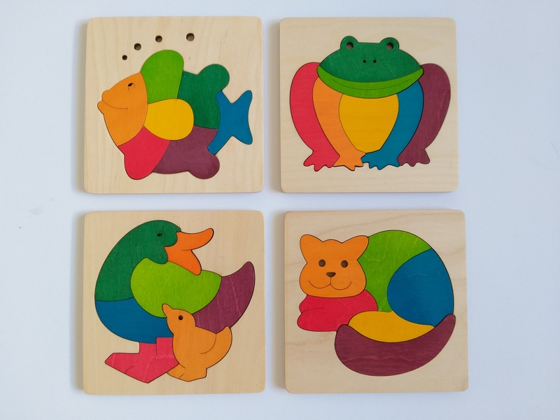 PG104: George Luck Animal Puzzles