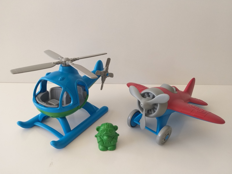 VT190: Green Toys Helicopter and Plane Set