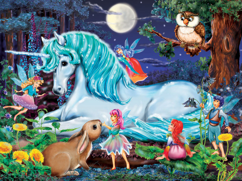 PG112: Enchanted Forest Puzzle