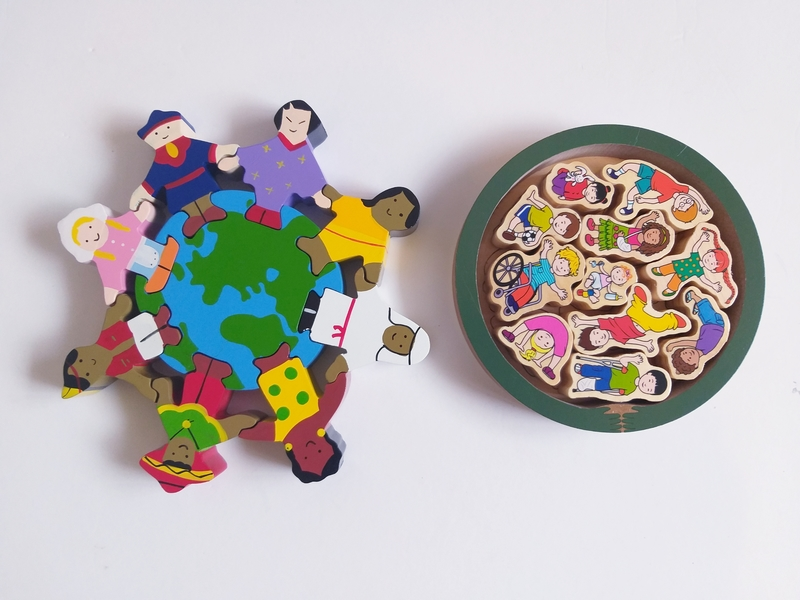 PG120: Children of the World and Inclusion Puzzles