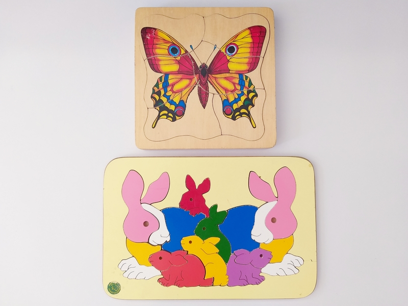 PG166: Butterfly and Bunnies Puzzles