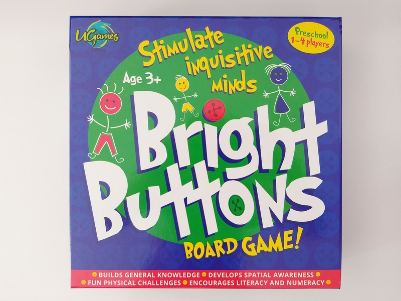 PG132: Bright Buttons Board Game