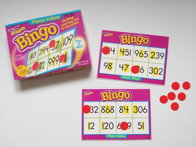 PG137: Place Value Bingo