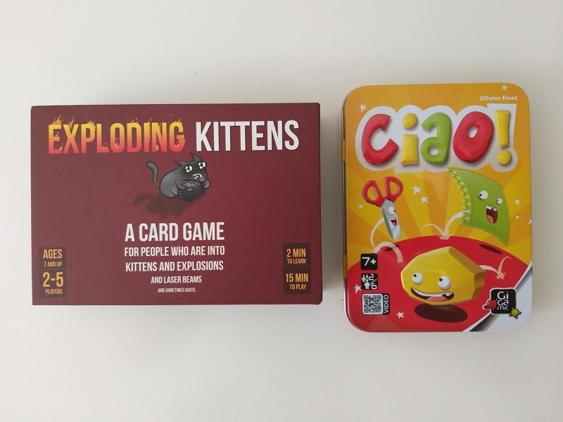 PG162: Exploding Kittens and Ciao!