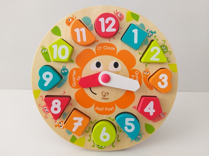 EL18: Chunky Clock Puzzle