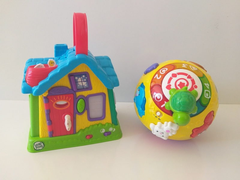 B70: Discovery House and Wiggle and Crawl Ball