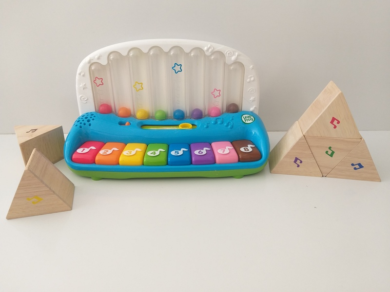 M12: Poppin' Play Piano and Sound Prism Set