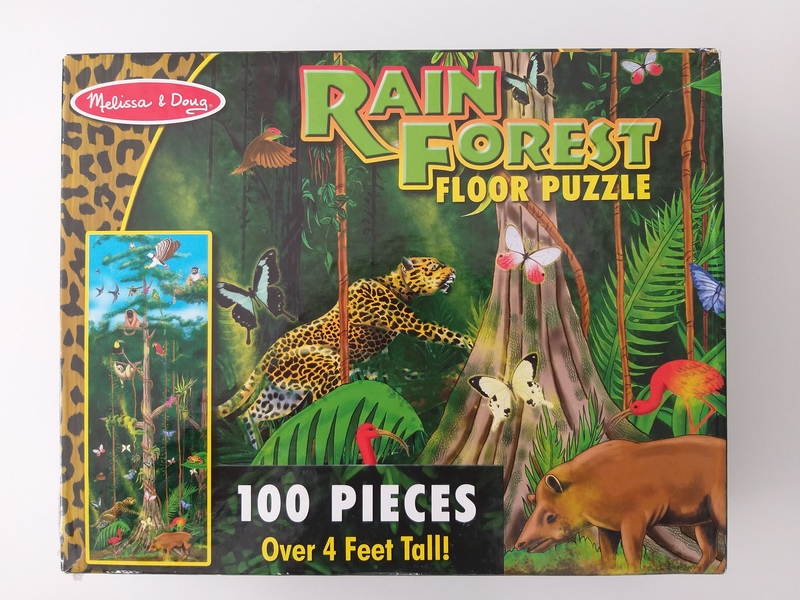 PG37: Rain Forest 100 Piece Floor Puzzle