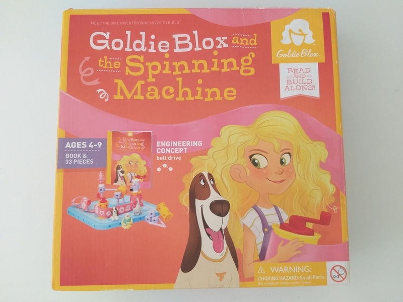 PG165: Goldie Blox and the Spinning Machine