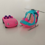 IMG128: Barbie Car and Helicopter