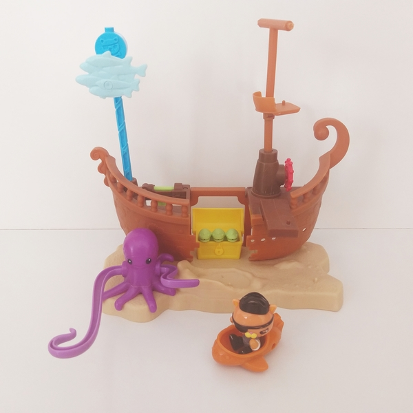 IMG129: Octonauts - Kwazii's Shipwreck