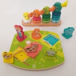 B110: Ducks Stacker and Farmyard Sound Puzzle
