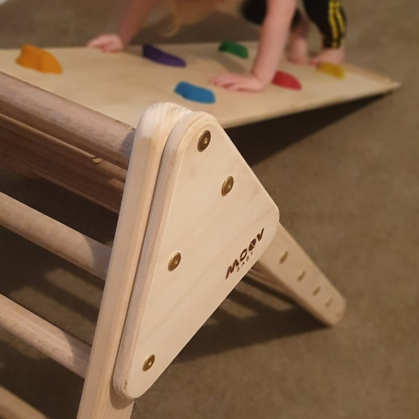 MOV14: Baby Pikler Folding Triangle and Ramp/Slide