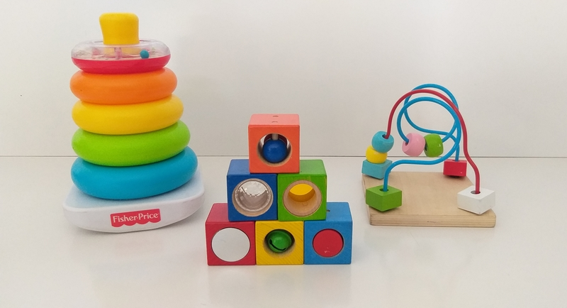 B113: Baby Stacking and Wooden Maze Set