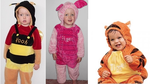 B200: Pooh & Friends Costumes Size 1-3