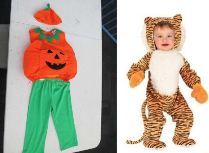 B201: Toddler Costumes Size 2-3