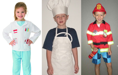 RP200: Career Costumes Size 3 to 5