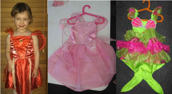 IMG201: Fairy Costumes Size 2-3