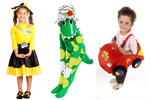 IMG203: Wiggles Costumes Size 3-6