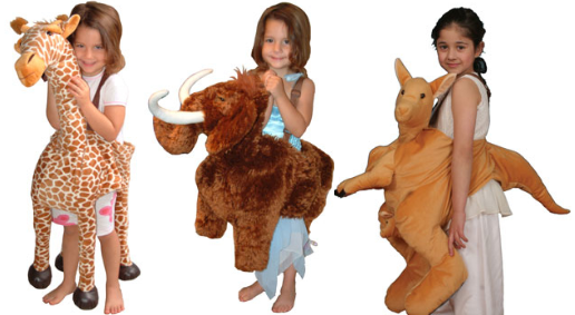 IMG204: Animal Costumes Size 4+
