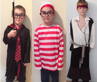 IMG205: Book Week Costumes Size 5+