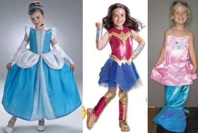 IMG208: Princess Costumes 2 Size 4-6
