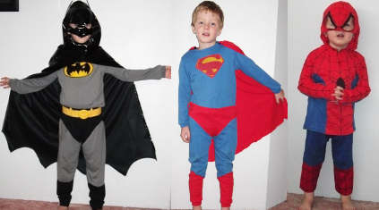 IMG209: Heroes Costumes Size 5-8
