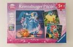 PG208: Snow White, Cinderella, Ariel Puzzles