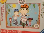 PG243: Charlie and Lola Giant Floor Puzzle